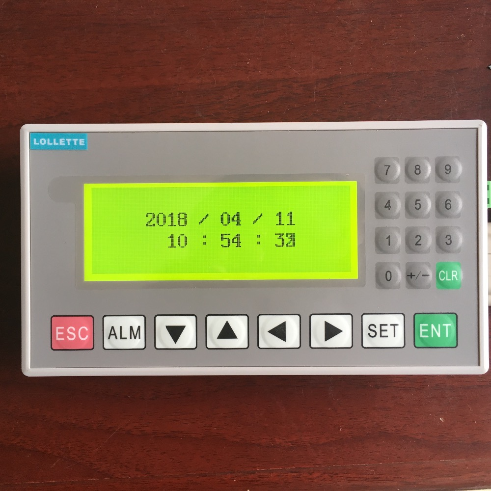 Text display OP320 OP320-A  panel display screen HMI with RS232/RS422/RS485 for various PLC  modbus RTC (real time clock) samsung rs 552 nruasl