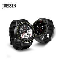 JUESSEN F1 Bluetooth Smartwatch GPS Sports Relogio Watch Men Support SIM Card Camera Watches Heart Rate Sleep Monitor Wristwatch