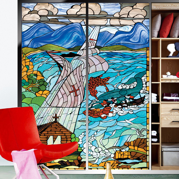 popular custom decorative window film-buy cheap custom decorative