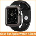 Nova capa armadura resistente para apple watch série 2 1 caso 42mm 38mm para iwatch Casos de Solavancos E Arranhões À Prova de Choque capa Protetora Da Pele
