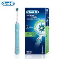 Oral B D16 Pro600 Electric Toothbrush Rechargeable Electric Tooth Brush Deep Clean for Adult Teeth Whitening Oral Hygiene