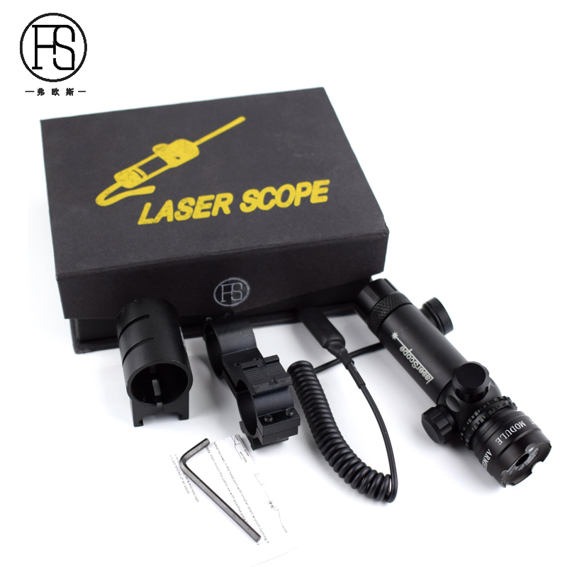 5mw 532nm Red Laser Sight Scope Hunting Red Green Laser Tactical Sight Rifle Gun Optic Sight Laser 20mm Rail