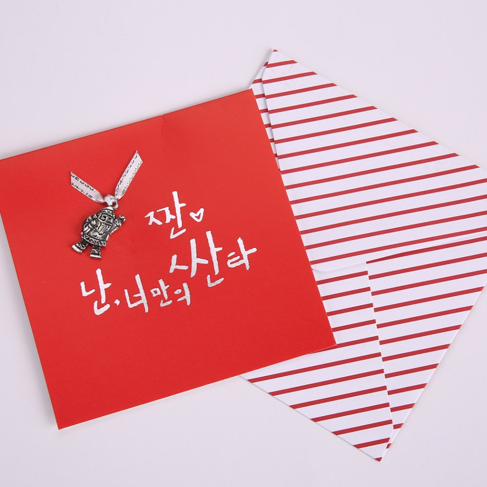 24pcslot Chirstmas Cards Handmade Greeting Card Happy New Year