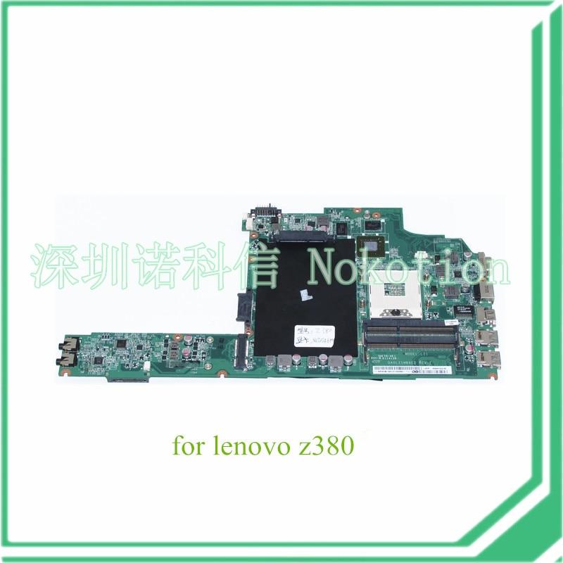 NOKOTION DA0LZ1MB6E0 REV E For lenovo ideapad Z380 Laptop motherboard HD4000+GT610M DDR3NOKOTION DA0LZ1MB6E0 REV E For lenovo ideapad Z380 Laptop motherboard HD4000+GT610M DDR3