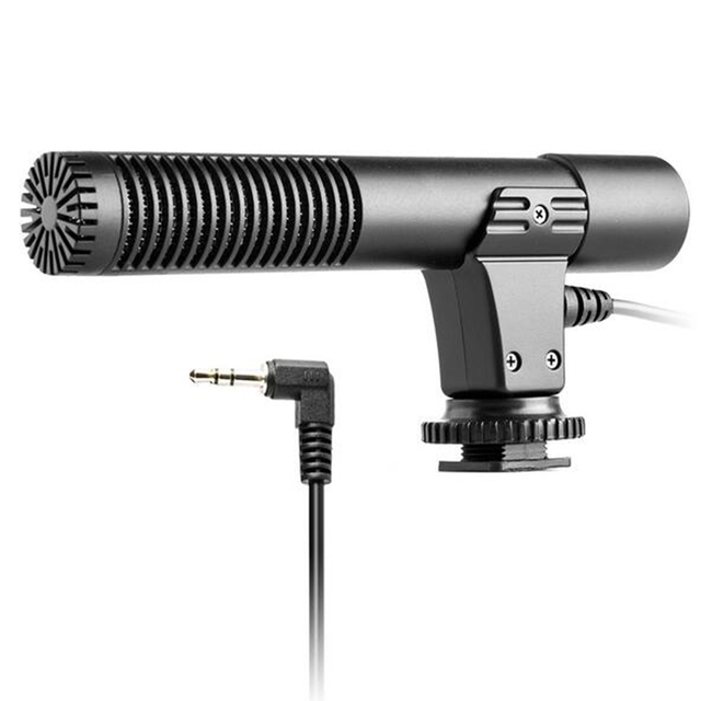 Convenient Video Condenser Shotgun Microphone For Digital SLR Camera Camcorder