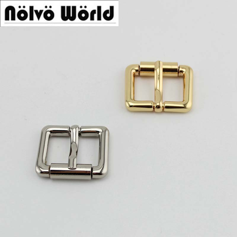 50pcs 10pcs 20mm 5colors  Color Turnbuckle Zinc Alloy Square Pin Buckle Bags,brush Antiqeu Brass Belts Buckles