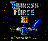 Thunder Force III For Sega Genesis 1