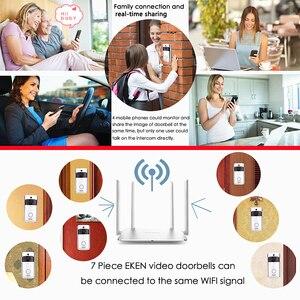 Image 4 - Eken V5 スマート無線lanビデオドアベルカメラのvisualインターホンチャイムとナイトビジョンipドアベルワイヤレスホームセキュリティカメラ