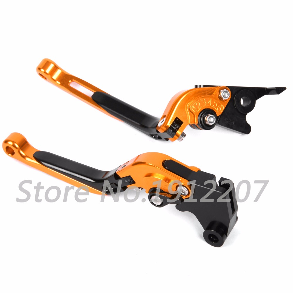 ФОТО For KTM 990 SMR 2012 Foldable Extendable Brake Clutch Levers Aluminum Alloy CNC Folding&Extending High Quality Hot Selling