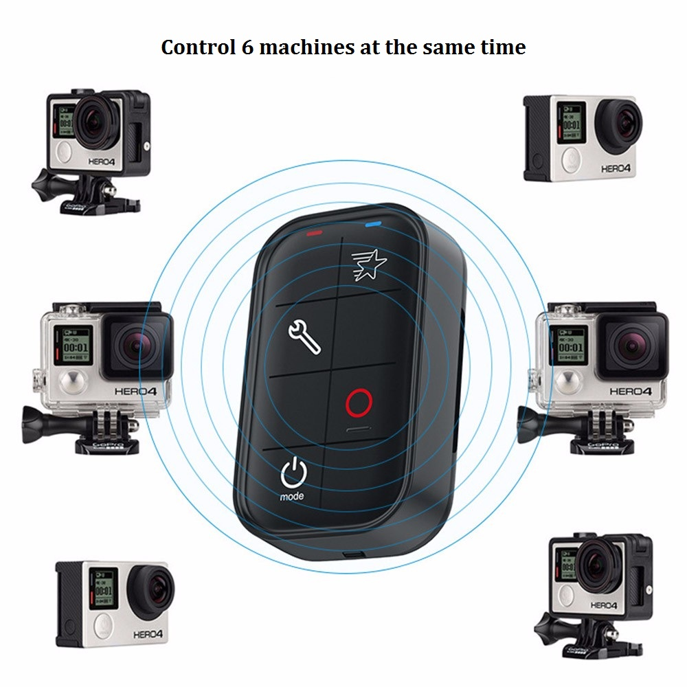 Wireless Wifi Remote Control for GoPro HERO 5 Session 4 3+ (3)