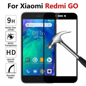 Image 1 - מגן זכוכית על לxiaomi Redmi ללכת בטיחות זכוכית מסך מגן עבור Redmi ללכת redmigo מזג זכוכית מלא כיסוי סרט 9h