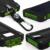 Al aire libre brújula senderismo viajes 10000 mah portátil cargador solar dual usb power bank batería impermeable para samsung smartphone nuevo
