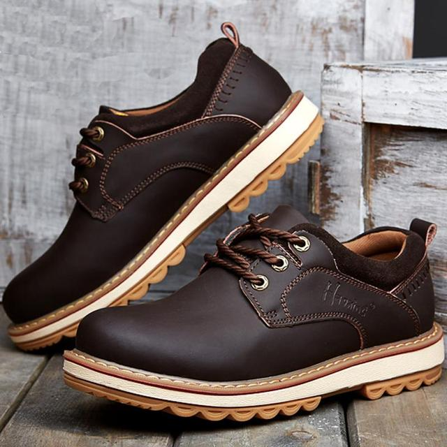 Male Anti-slip Casual Leather Shoes cheap online store Manchester professional sale online shopping online sale enjoy HhHdvXB
