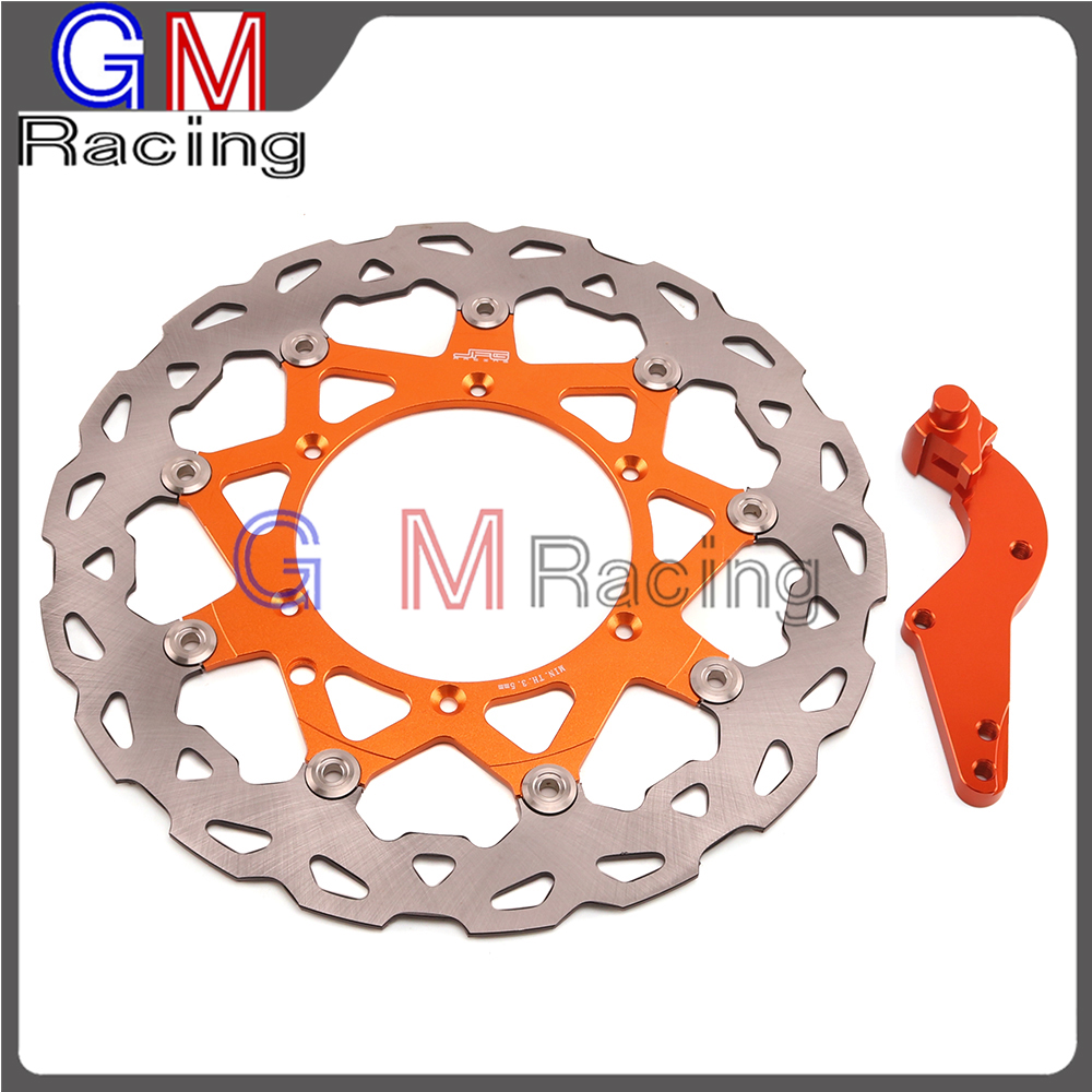 320mm Floating Front Brake Disc Rotor Bracket For KTM EXC SX SXF GS MX MXC XC