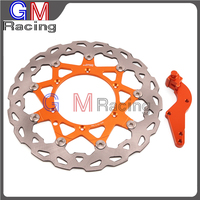 320mm Floating Front Brake Disc Rotor Bracket For KTM EXC SX SXF GS MX MXC XC XCF XCW SXS LC4 125 200 250 380 400 450 500 525