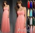 0013 chiffon pêssego cor roxo real noivas azuis estilo rural empregada maxi vestidos dama de honra