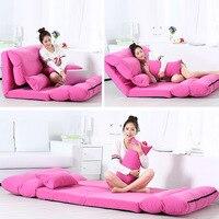 Диван кровать Складной Съемный кушетка складной постельное белье ленивый диван татами шезлонг многоцелевой стулья для гостиной