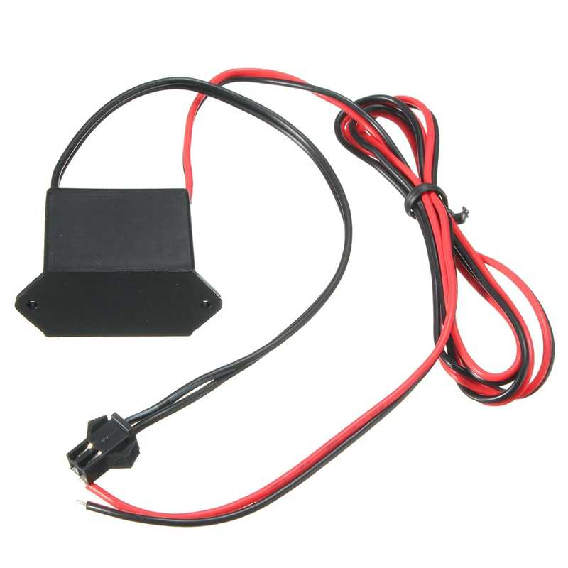 DC 12V Mini Neon EL Wire Power Driver Controller for 1-10M LED EL Wire Light Inverter Supply Adapter Flexible Neon Wire Driver