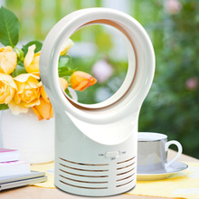 цены Hot Fashion Mini Bladeless Fan Sleeping Electric Cooling Super Quiet Two Speed Air Fans for Home Students HY99 JU28