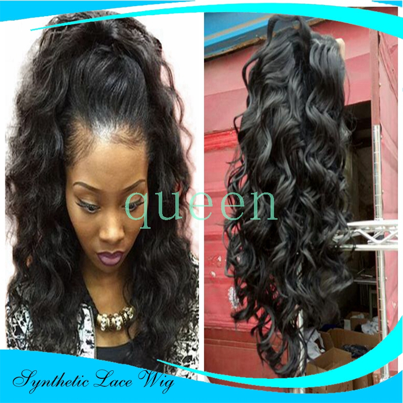 Heat resistant hair no lace wig in synthetic wigs from beauty amp health