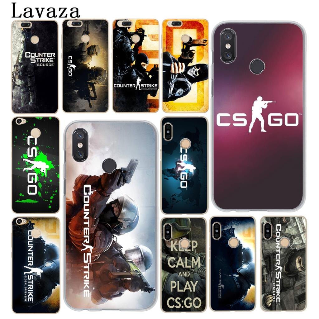 Phone Bags & Cases Enthusiastic Lavaza Cs Go Counter Strike Gun Strike Phone Case For Xiaomi Mi 9 8 Se A2 Lite A1 Pocophone F1 5x 5s 6 6x Mix 2s Max 3 Mi9 Mi8 Traveling