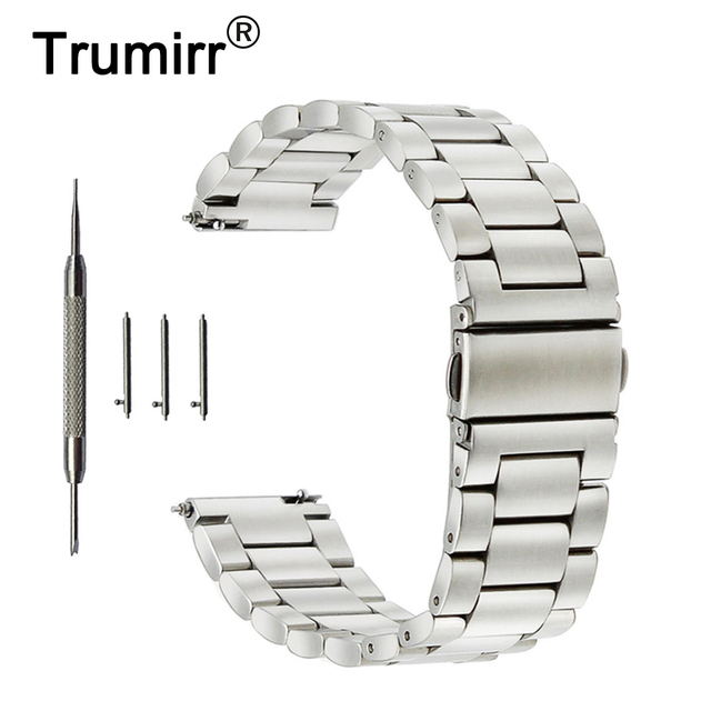 4d7f6fcfaeb 18mm 20mm 22mm 23mm 24mm Stainless Steel Watch Band for Orient Watchband  Quick Release Strap Wrist Belt Bracelet Silver Black-in Watchbands from  Watches on ...