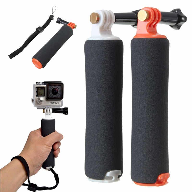 Алюминиевый сплав плавающий Поплавковый держатель диванная подушка из пены для ручного крепления + Винт для GoPro Hero 4 3 + 3 2 1 спортивная Экшн-камера Камера