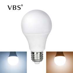 1PCS LED Lamp E27 Bulb Lights 220V 240V Smart IC Real Power 3W 5W 7W 9W 12W 15W Lampadas No Flicker Indoor Led Lighting Bulbs