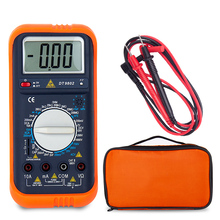 Multimeter Digital Professional Capacitor ERS Transistor Tester Voltmeter Voltage Indicator Electric Meter Set OF Probes PEn TiP