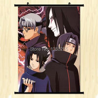 Naruto SHIPPUDEN Akatsuki menbers Home Decor Japanese Poster Wall Scroll Whole