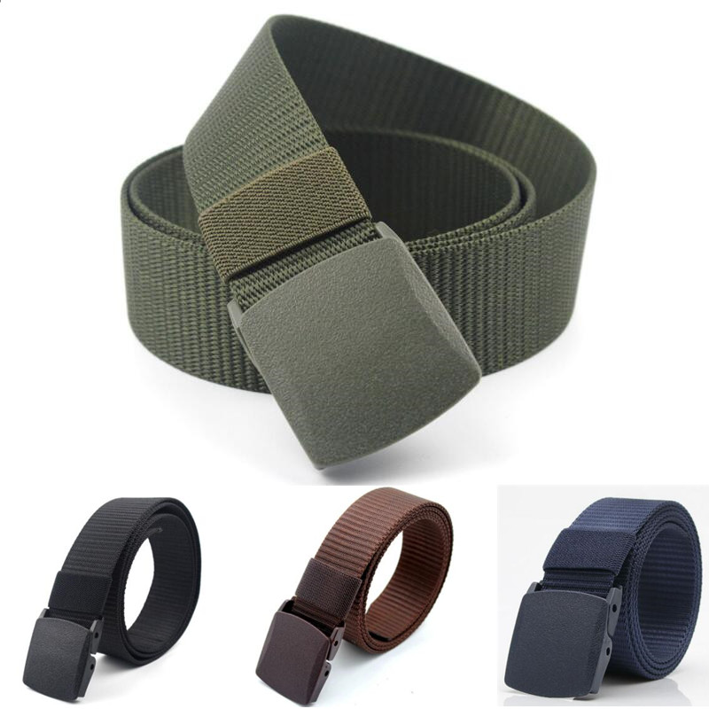 Children's   belt   Men Women Boys Nylon Outdoor Tactical   Belts   anti allergy students outdoor sport military training Waist   Belt
