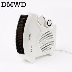 Multifunções Quente & Cool Ventilador de Ar para Uso Doméstico portátil Infravermelho Aquecedor Elétrico Aquecedor mesa Condicionado ventilador de refrigeração refrigerador DA UE