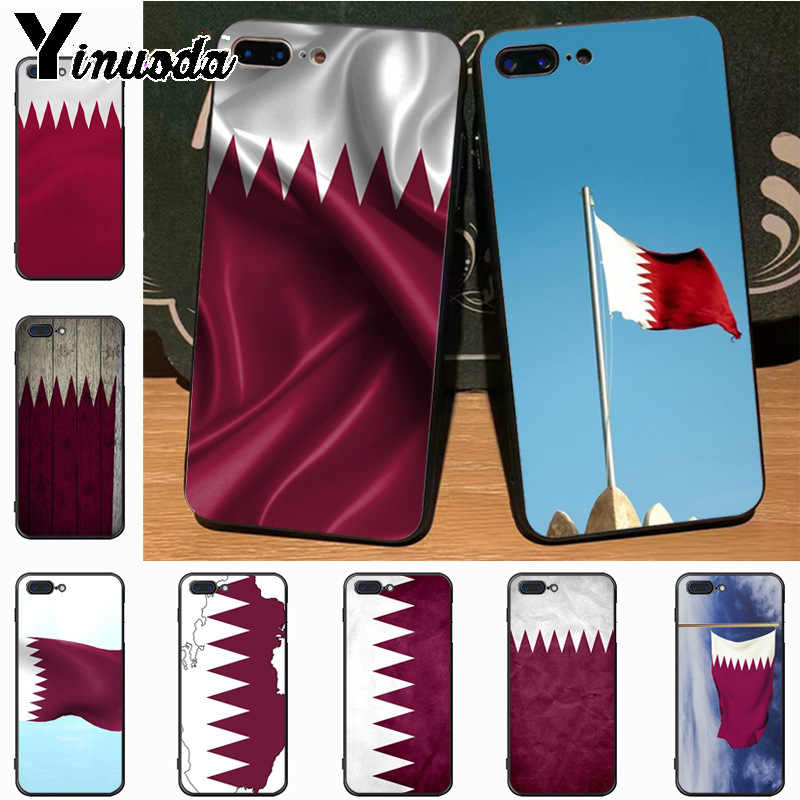 Yinuoda Qatar Flag national banner High Quality Classic High-end Phone Case  for iPhone 7plus 6S 6plus 7 8 8Plus X 5 5S case
