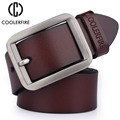 Newest Men Belt 100% Genuine Leather Belt For Men High Quality Fashion Designer Luxury Real  Leather Strap Male  HQ025