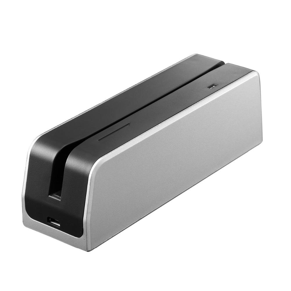 MSRX8 Mini USB carte à Bande Magnétique lecteur écrivain (codeur) Pour Windows 3 Pistes Salut-Co et Lo-Co Portable Lecteur de Carte Magnétique/Écrivain