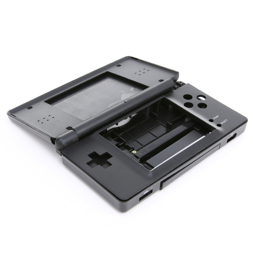 цены Black/White Full Repair Parts Game Replacement Housing Case Kit For Nintendo DS Lite For NDS High Quality