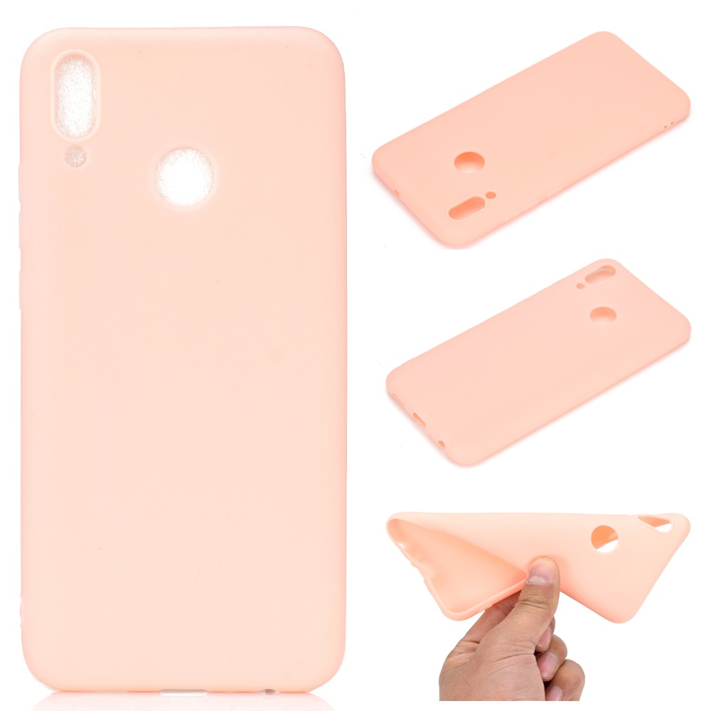 Candy Color Case For Huawei P Smart 2019 P30 Pro Mate 20 Lite Nova 4 Cover For Huawei Nova 3i Coque P Smart Plus Y9 2019 in Fitted Cases from Cellphones Telecommunications