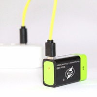 ZNTER Ultra Efficient 9V 400mAh USB Rechargeable 9V Lithium Polymer Battery For RC Camera Drone Accessories