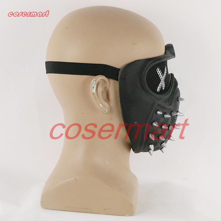 Game Cosplay Mask Watch Dogs 2 Mask Marcus Holloway Mask Casual Tangerine Mask Halloween Party Prop