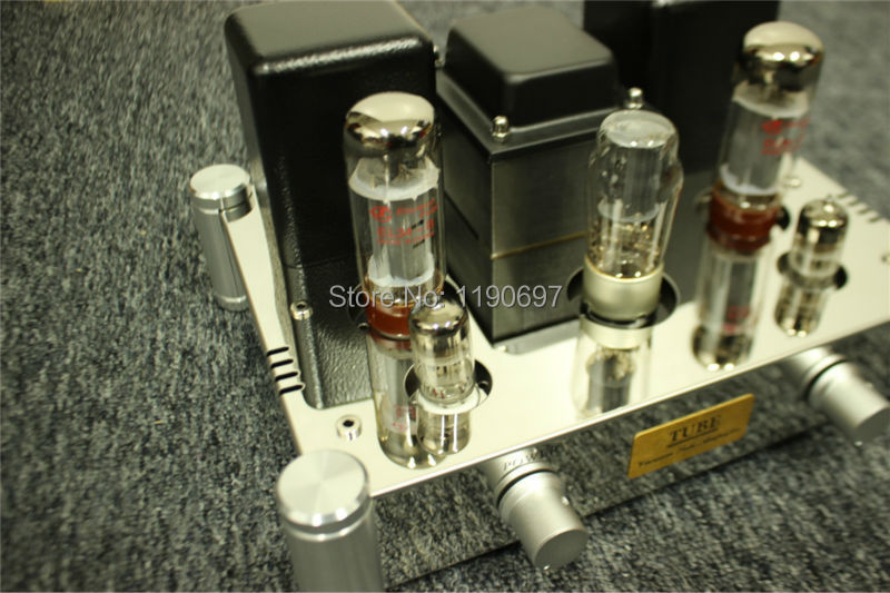 EL34B Single Ended Buizenversterker 5Z4P + 6N2J Tube Hifi Audio Vacuümbuis Pwer Versterker