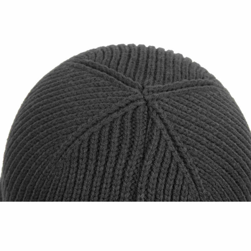 c1e021f9f04 ... Vintage Knit Skull Caps Cable Knitted Ski Beanie Warm Winter Hats for  Men and Women