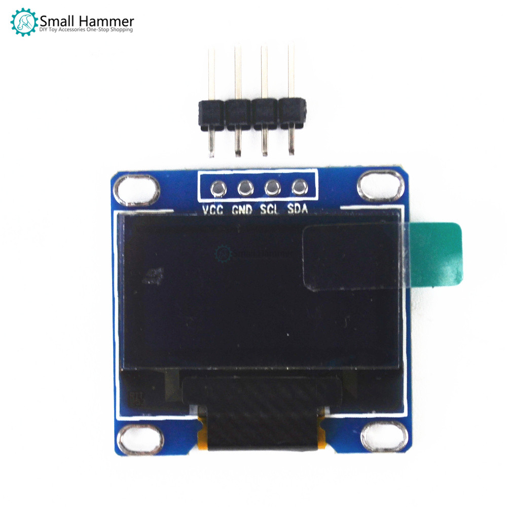 0.96 Inch Blue 128*64 I2C IIC Communication Display OLED LCD Module