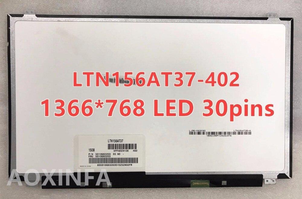 Free Shipping B156XTN04.0 B156XW04 V.8 N156BGE-EB1 N156BGE-E41 NT156WHM-N12 LP156WHU TPA1 B156XTN03.1 LTN156AT37 30 pin 15.6LED free shipping n156bge eb1 nt156whm n12 lp156whb tpa1 b156xw04 v 8 v 7 b156xtn04 0 n156bge ea1 30 pin n156bge e42 n156bge ea2