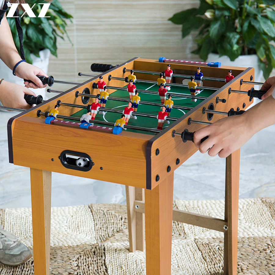 69cm 12pole Standard Football Soccer Table Game Bobby Children Desk Football Games Match Set Gift Toy Party For Adult Kids T4