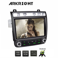 ARKRIGHT 8 1 din Android 8.1 GPS Navigation Car Radio for VW Volkswagen Touareg 2010 2017 car Multimedia Player