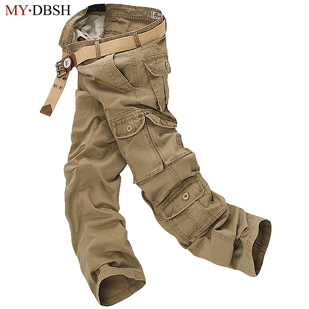 2018 Brand New Style Tactics Military Trousers Tactics Army Cotton Cargo Pocket Pants Ca ...