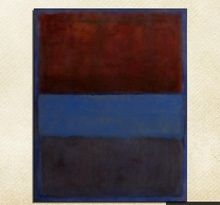 Mark Rothko Still life Classical oil Painting Drawing art Unframed Canvas miniature square children wall action