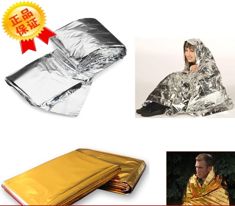 160*210 emergency Blanket Thermal Insulation emergency cushion earthquake first aid kit first-aid kit(