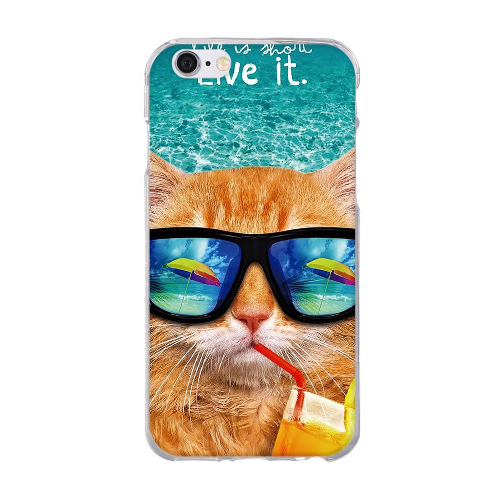 For iPhone 5 Case Cute TPU iphone 6 6s դեպքում iphone 5 5s - Բջջային հեռախոսի պարագաներ և պահեստամասեր - Լուսանկար 4