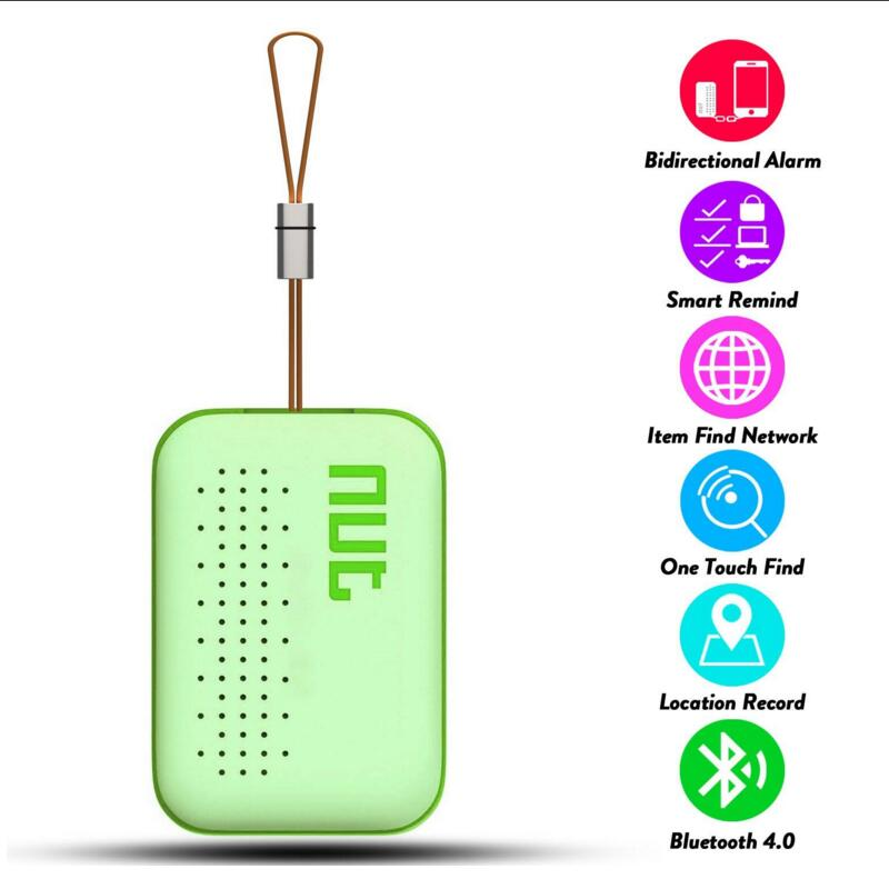 Nut 3 Mini Smart Tag GPS Tracker Bluetooth Key Finder Locator Sensor Alarm Anti Lost Wallet Pet Child Kid Locator For Phone